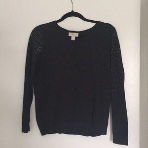 Loft Sweater with rhinestones